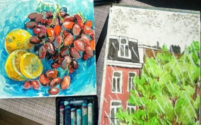Urban Sketching in tijden van corona: Kateryna Tymofiienko