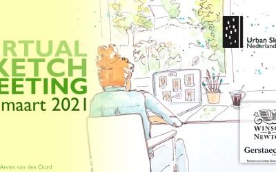 Doe mee! Virtual Sketch Meeting 27 maart!