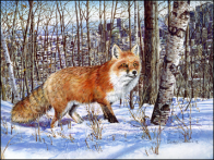 B Jocelyne Bouchard, Le chasseur roux