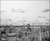 B Rolins Colins, AnOutlookFromMontRoyal_Drawing
