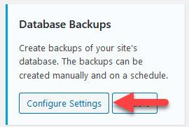 Włącz automatyczne tworzenie kopii zapasowych bazy danych