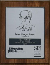 26-SPJ Award April 2003