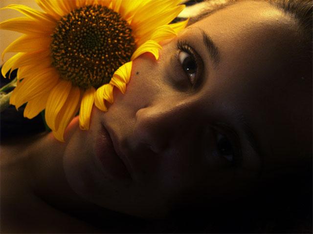 Слънчогледово момиче
