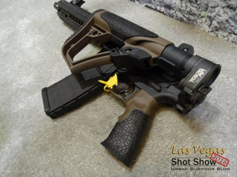 Shot Show Danel Defense DDMK18 MK18 Folding