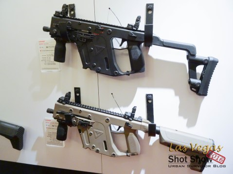 Kriss Vector SMG Pistol 9mm 45ACP
