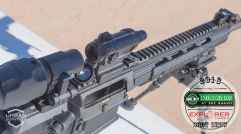 Aimpoint CompM5 and 6x Magnifier SHOT Show 2018 Industry Day at the Range (5)