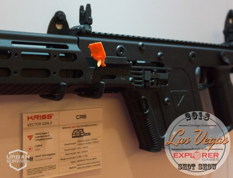 Kriss Vector 2018 Handguard Stock SHOT Show 2018 (1)