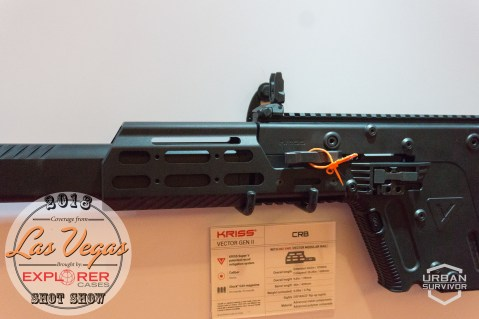 Kriss Vector 2018 Handguard Stock SHOT Show 2018 (9)