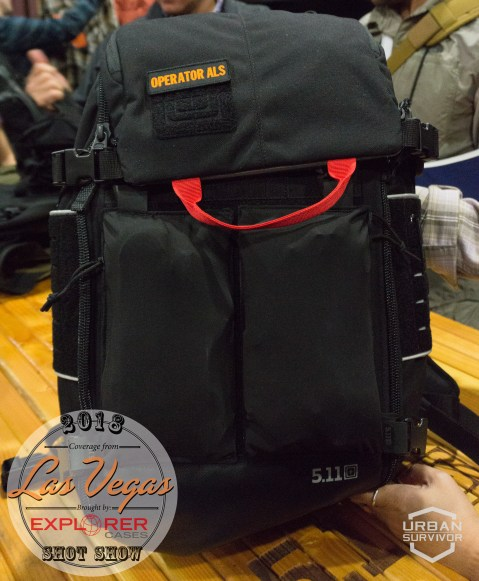 5.11 SHOT Show 2018 AMP All Mission System Medial Bag (9)