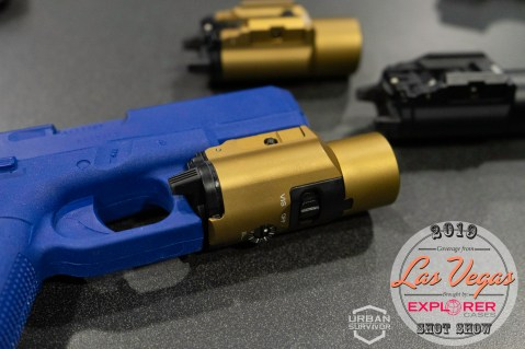 Streamlight TIR-VIR II IR Illuminator and Laser SHOT show 2019 Urban Survivor