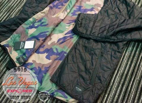 K3 - Kyros Lochi Reversible Jacket Black - M81 Woodland