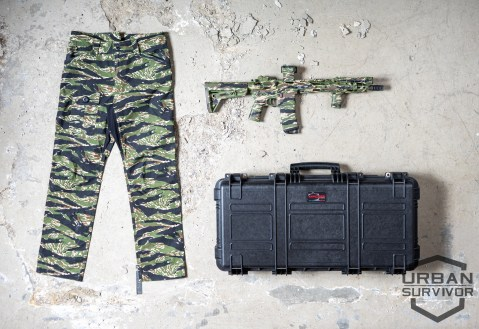 Urban Survivor Blog Tiger Stripe Beyond Clothing Explorer Cases ADC AR15