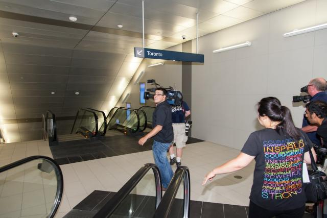 Billy Bishop Toronto City Airport Pedestrian Tunnel, Ports Toronto