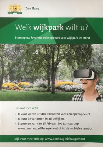 Campagneposter Wijkpark de Horst