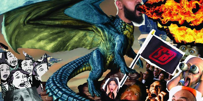 Swami Baracus – Return Of The Dragon! (Music Video/Free Download)