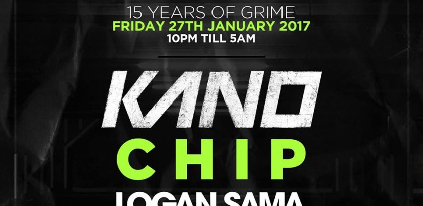 Music Nation: 15 YEARS OF GRIME - KANO, CHIP, LOGAN SAMA & More @ Building Six, The O2 Arena, London, UK (27th Jan)