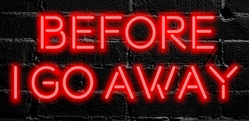 Leo Napier - Before I Go Away (Lyric Video) + EP Announcement