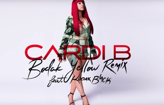 Cardi B ft. Kodak Black - Bodak Yellow Remix (Audio)