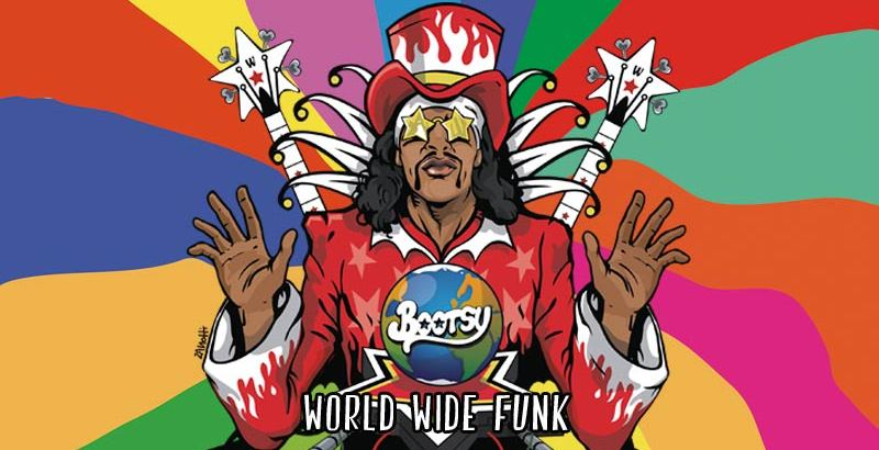 Bootsy Collins ft. Musiq Soulchild & Big Daddy Kane - Hot Saucer (Audio)+ World Wide Funk (Album/Pre-Order/27th Oct)