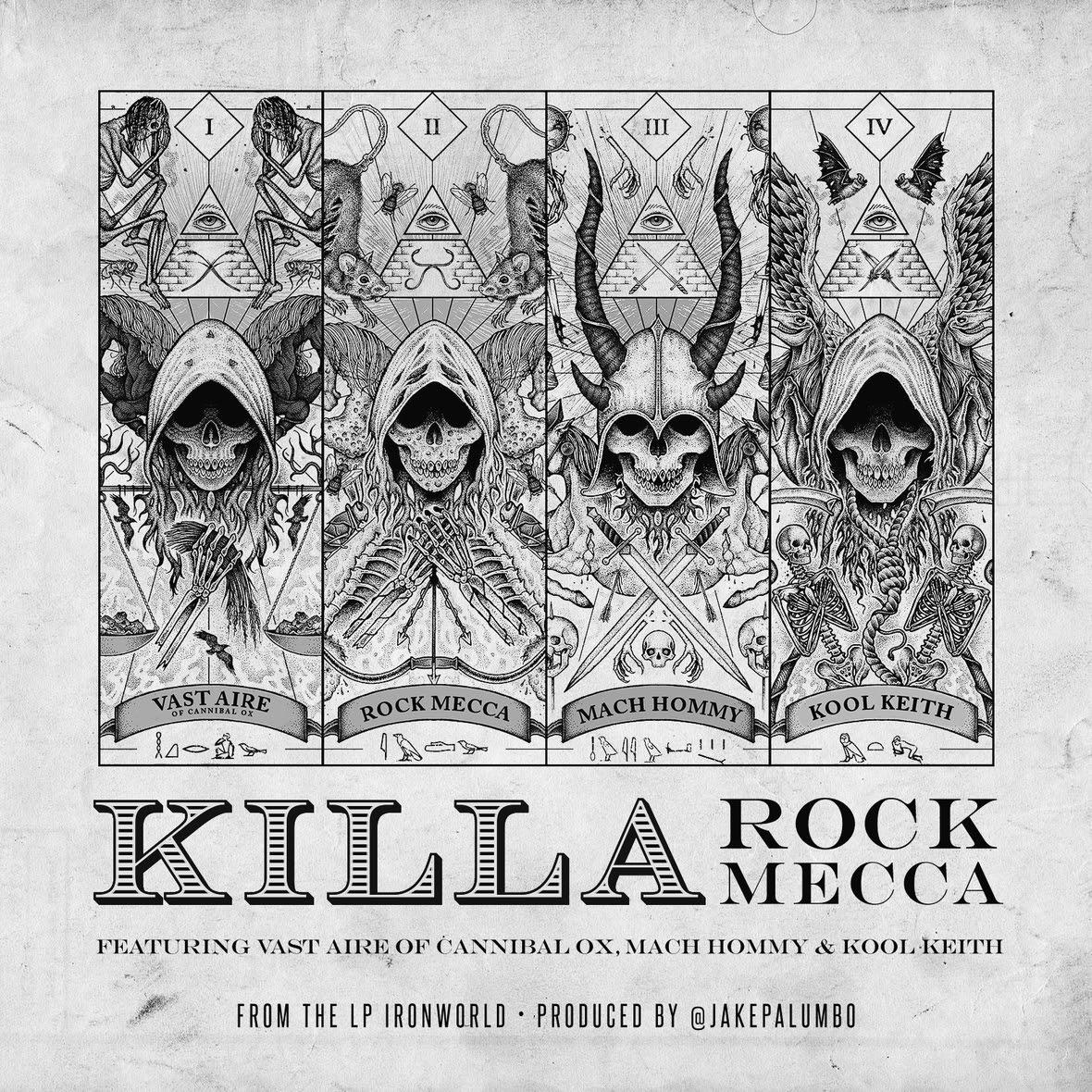 Rock Mecca ft  Vast Aire, Mach Hommy & Kool Keith - Killa (Audio