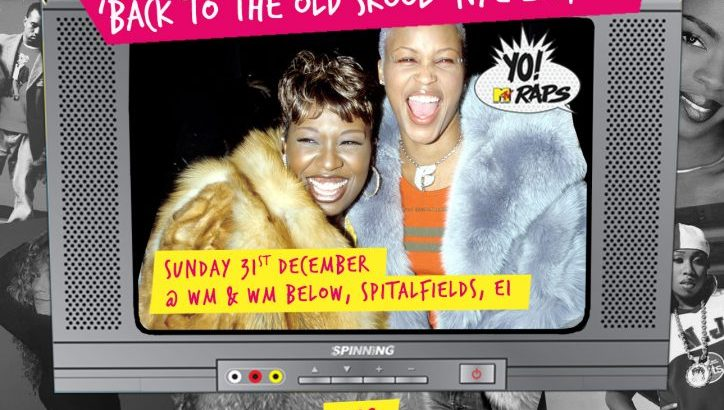 Supa Dupa Fly presents: New Years Eve - Back to the Old Skool 90's & 00's Hip Hop & RnB, All Night! @ WM & WM Below (31st Dec)