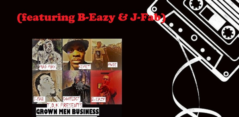 United Elementz Media presents: T​.​D​.​K x Grown Men Business ft. B-Eazy & J-Fab - Dedicated​/​Bars So Wavy (Audio)