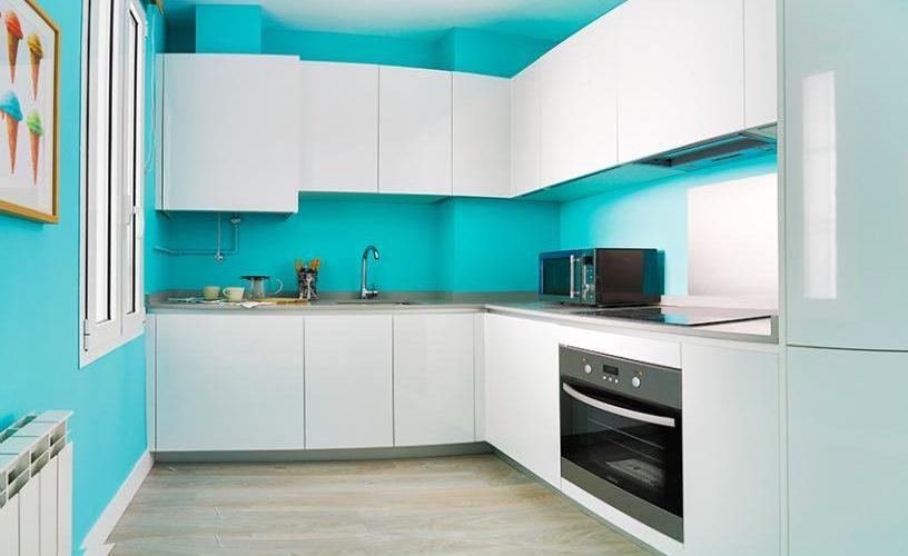 Cocina en Apartamento un Dormitorio 3 UrbanVida La Latina