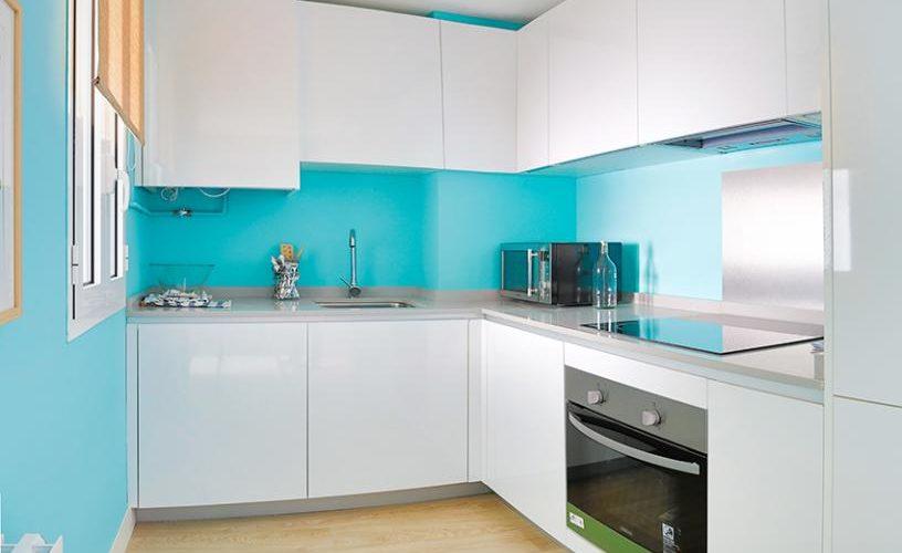 Cocina en Apartamento un Dormitorio 4 UrbanVida La Latina3