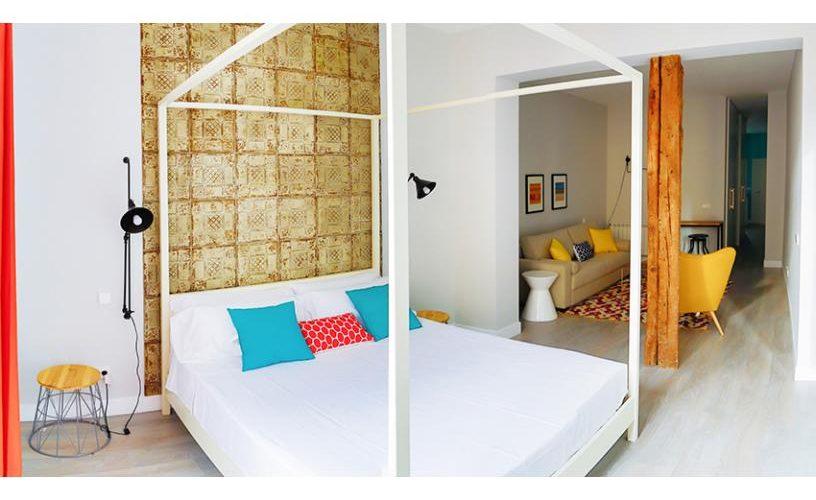 Habitacion en Estudio Loft 3.1 UrbanVida La Latina3