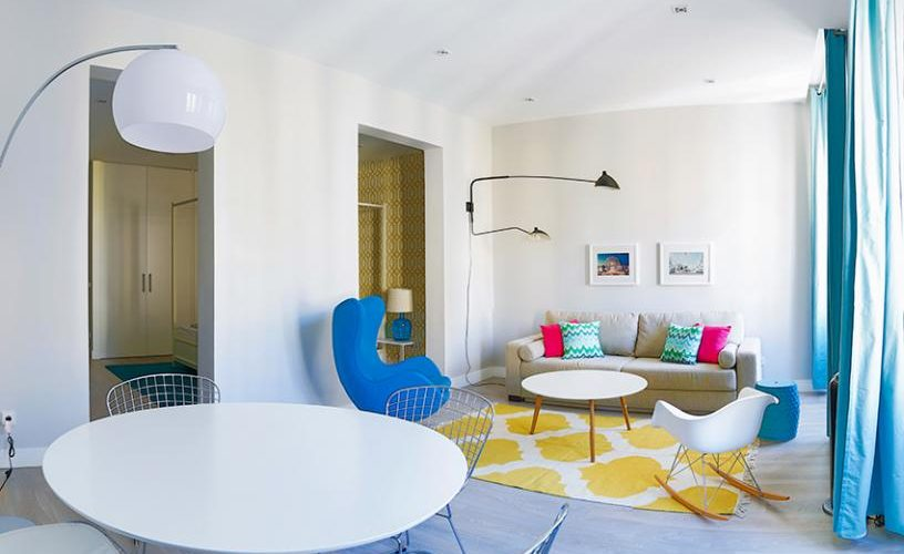 Salon en Apartamento un Dormitorio 3 UrbanVida La Latina