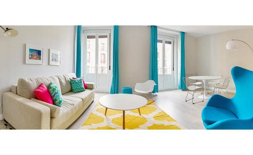 Salon en Apartamento un Dormitorio 3 UrbanVida La Latina2