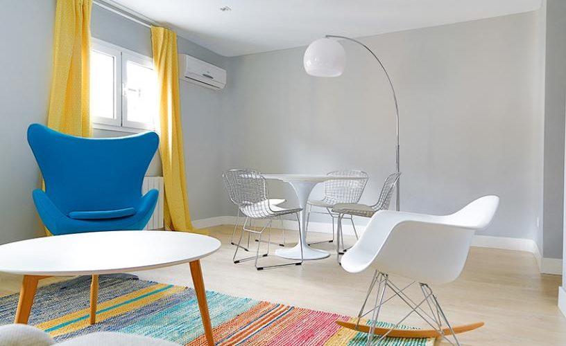 Salon en Apartamento un Dormitorio 4 UrbanVida La Latina 5