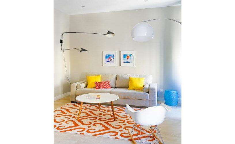 Salon en Apartamento un Dormitorio UrbanVida La Latina4