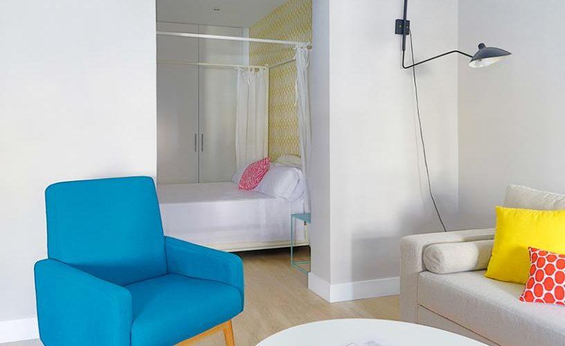 Salon en Apartamento un Dormitorio UrbanVida La Latina5