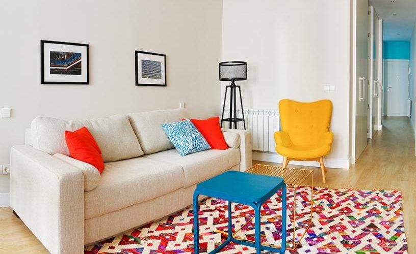 Salon en Estudio loft urbanvida la latina