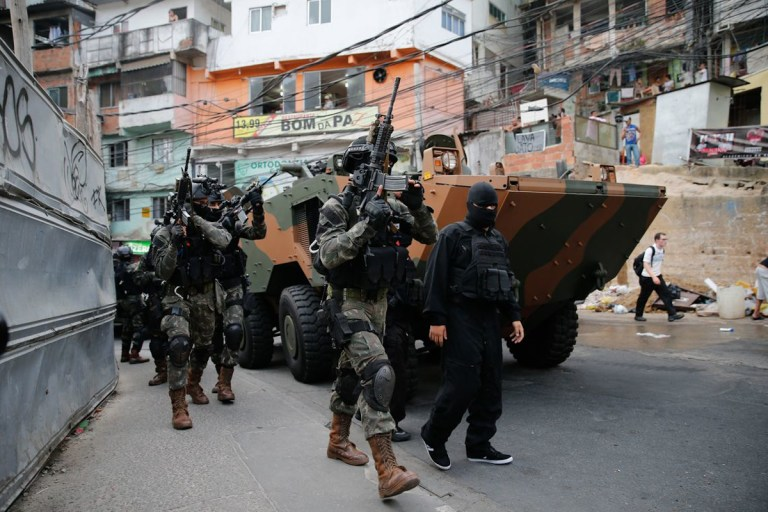 Can soldiers solve Brazil's crime problem?