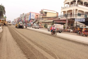 Phnom Penh: Relatively Poor Road Condition with Constant Repair