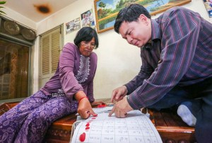 White Building residents dig in