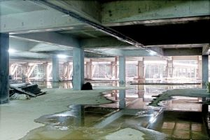 Private company invests in public underground parking lot