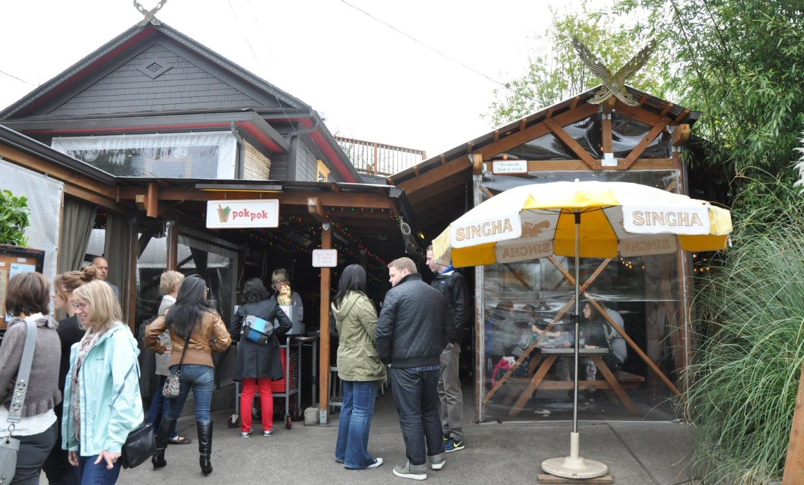 Portland Neighborhoods for foodies