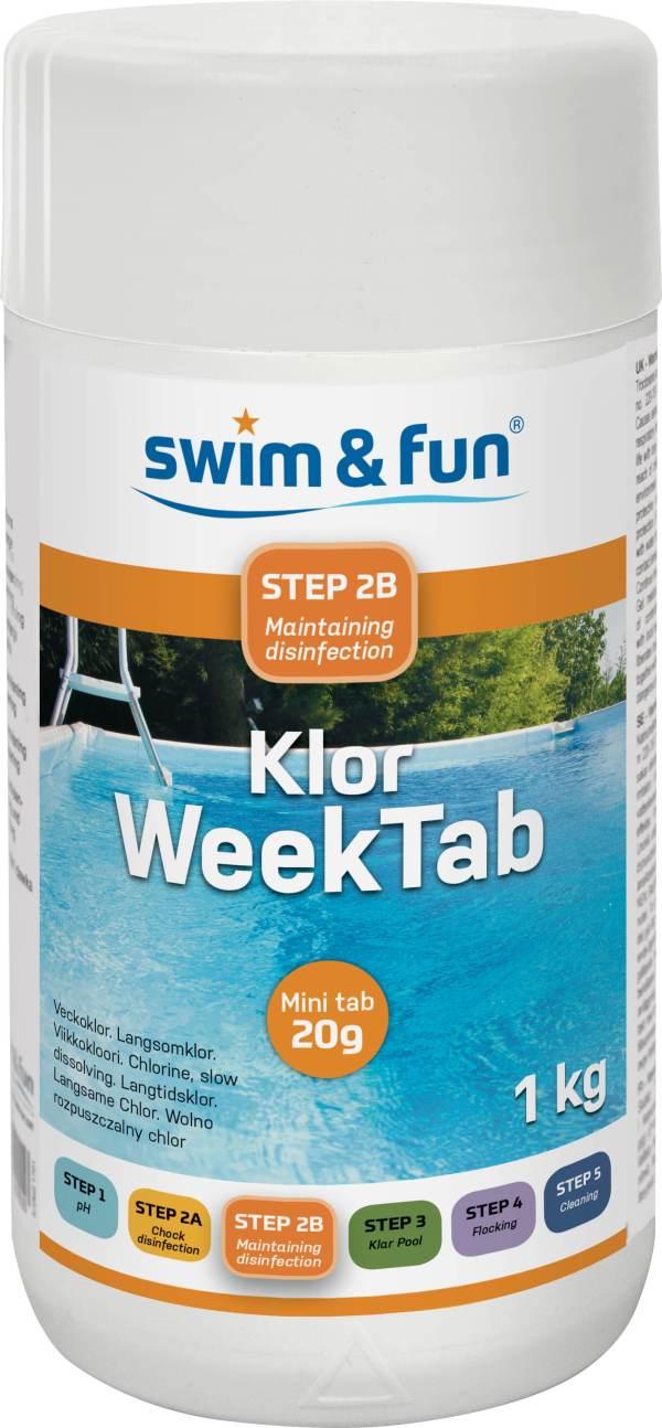 Klor Week Tab 20 gr 1 kg 1729 urbanwild