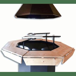 Standard 8 kantet grill