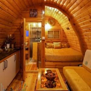 Luksus hytte