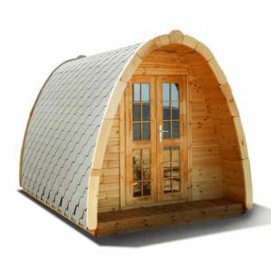 Isolerede luksus hytter