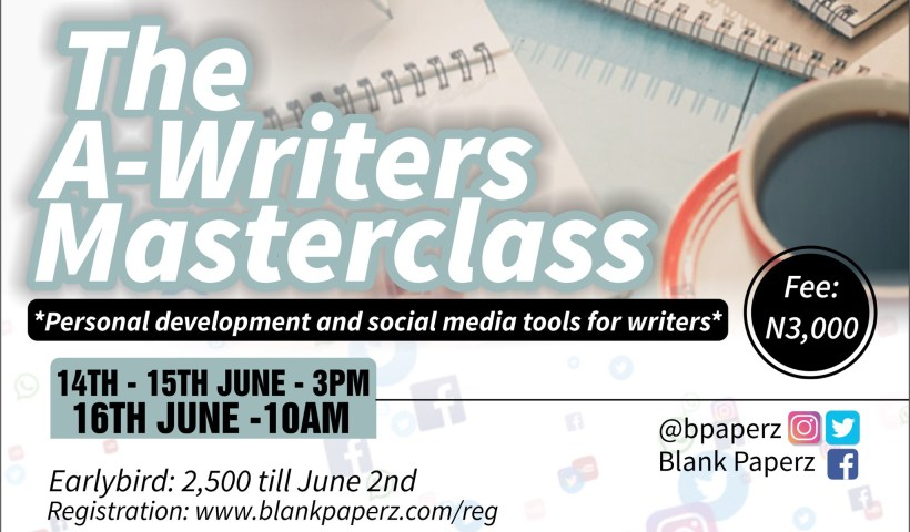 Writers Masterclass