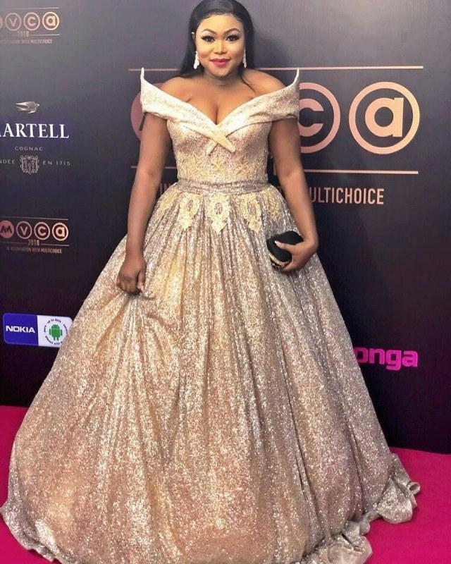 Ruth Kadiri dress AMVCA 2018