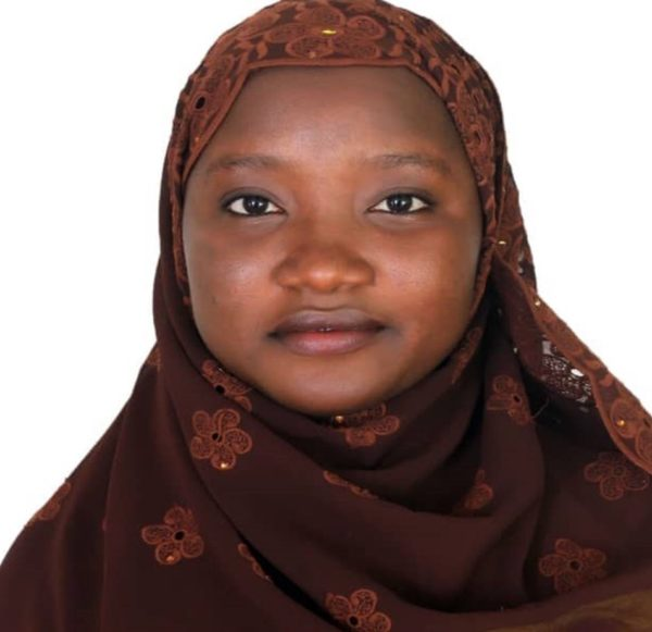 Safiyya Jibril winner of the 2018 BBC Hausa Short Story Writing Contest for Women