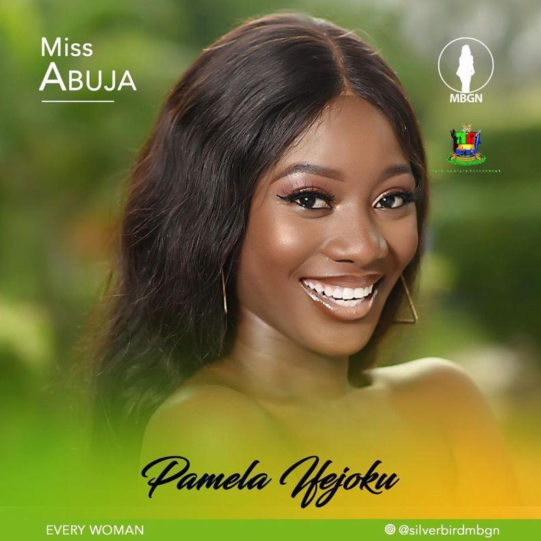 Miss Abuja MBGN 2019 Pamela Ifejoku