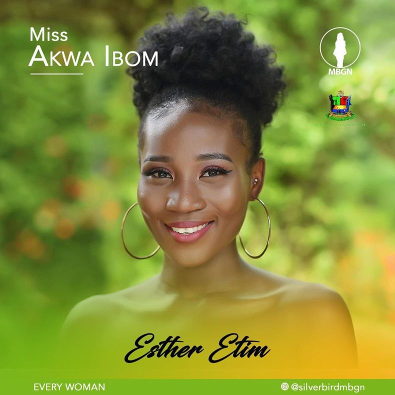 Miss Akwa Ibom MBGN 2019 Esther Etim