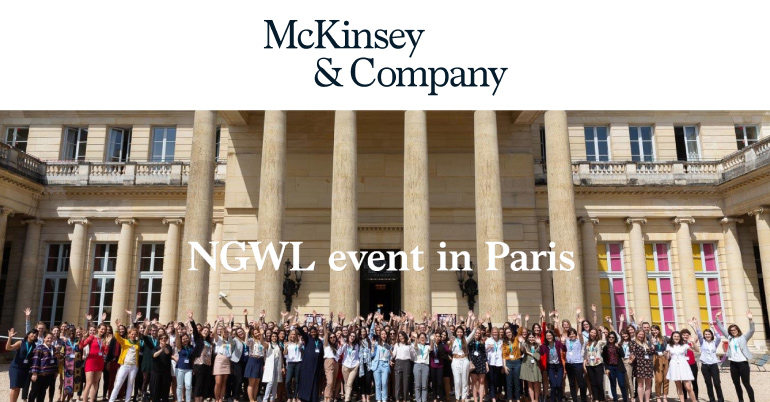 The Next Generation Women Leaders Event 2019 in Paris - Fully Funded